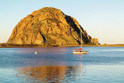 Photograph - Morro Rock 8b5398 by Stephen Parker
