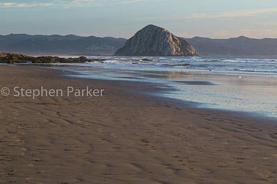 Photograph - Morro Rock 8b5406 by Stephen Parker