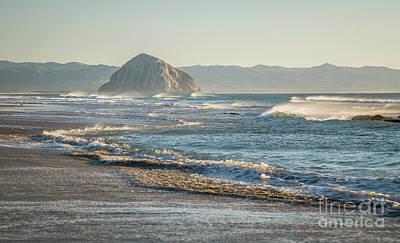 Photograph - Morro Rock 8b5536 by Stephen Parker