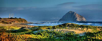 Morro Rock And Beach Art Print