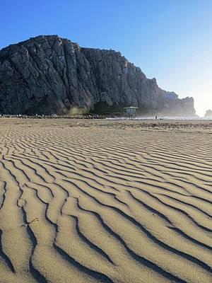 Morro Bay Ca Photograph - Morro Rock by Connor Beekman