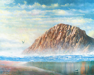 Painting - Morro Rock by Douglas Castleman