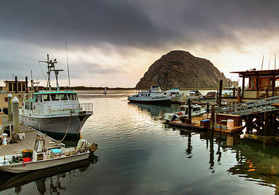 Photograph - Morro Rock - Morro Bay, California by R Scott Duncan