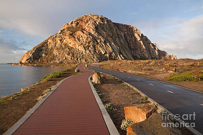 Photograph - Morro Rock Walk by Alice Cahill