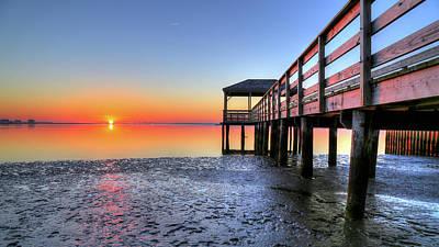 Photograph - Morrow Beach Peir by John Loreaux