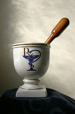 Mortar Photograph - Mortar And Pestle by Kristin Elmquist