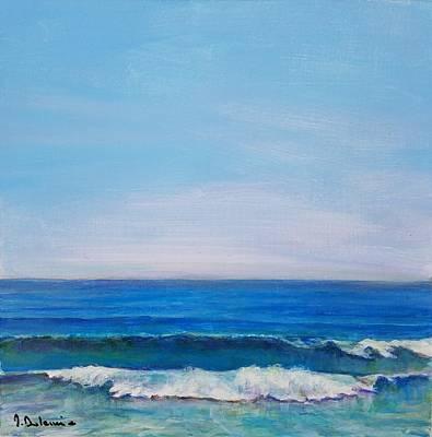 Painting - Morte Eau by Muriel Dolemieux