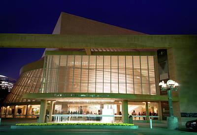 Photograph -  Morton H. Meyerson Symphony Center by Rospotte Photography