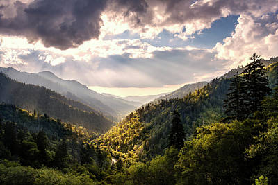 Photograph - Morton Overlook by Rima Biswas