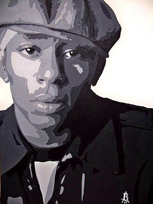 Painting - Mos Def by Angelee Borrero