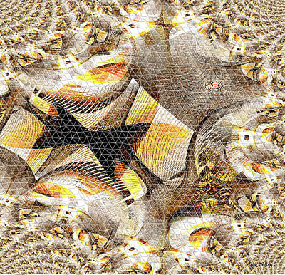 Digital Art - Mosaic #101 B by Iris Gelbart