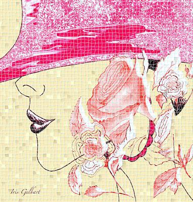 Digital Art - Mosaic #104 by Iris Gelbart