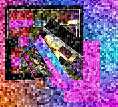 Digital Art - Mosaic #106 by Iris Gelbart
