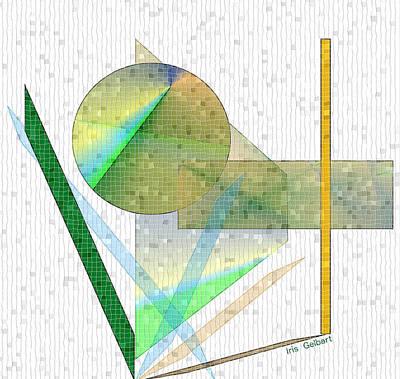 Digital Art - Mosaic #107 by Iris Gelbart