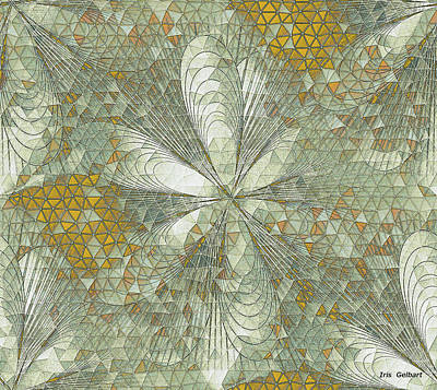 Digital Art - Mosaic #140 B by Iris Gelbart