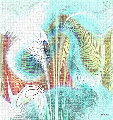 Digital Art - Mosaic #150 by Iris Gelbart