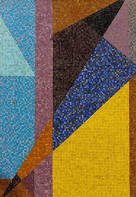 Mosaic Tesserae Tiles Photograph - Mosaic 2 by Jeff Townsend