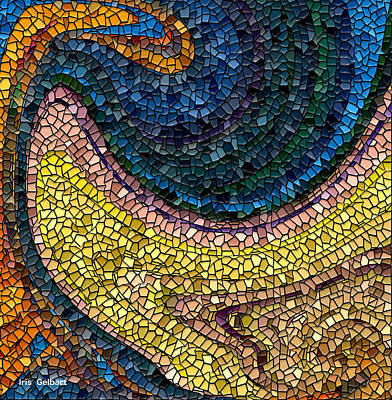 Digital Art - Mosaic #21 by Iris Gelbart