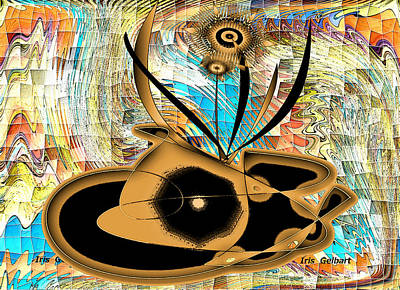 Digital Art - Mosaic #98 by Iris Gelbart