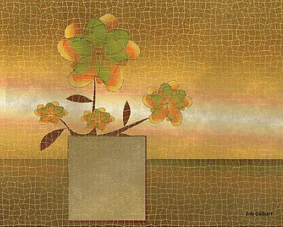 Digital Art - Mosaic Autumn Flowers by Iris Gelbart