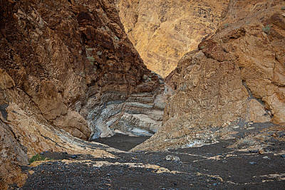 Photograph - Mosaic Canyon 2010 by Ralph Nordstrom