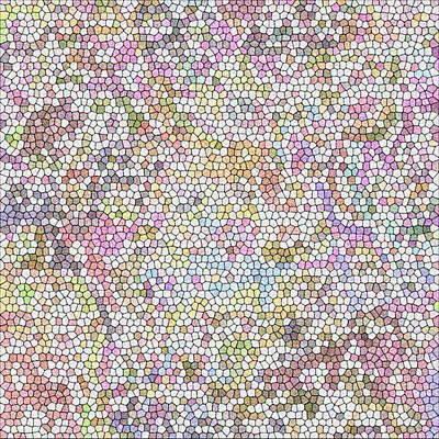 Digital Art - Mosaic by Gina Lee Manley