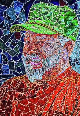 Photograph - Mosaic Man by Stewart Helberg