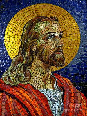 Photograph - Mosaic Messiah by Ed Weidman