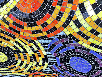 Photograph - Mosaic No. 113-1 by Sandy Taylor