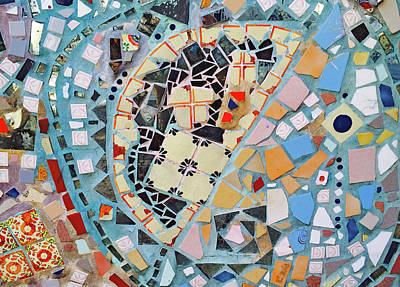 Photograph - Mosaic No. 15-1 by Sandy Taylor