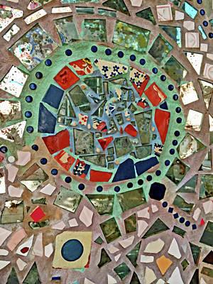 Photograph - Mosaic No. 3-1 by Sandy Taylor