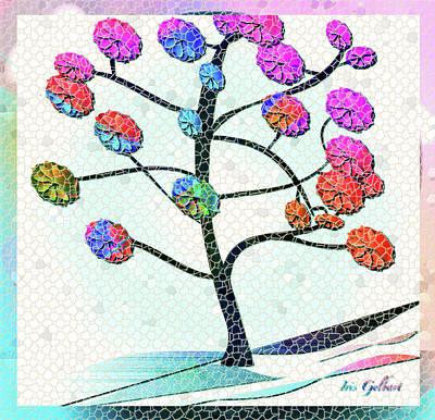 Digital Art - Mosaic Seasons by Iris Gelbart