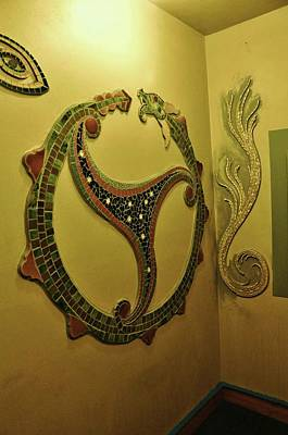 Photograph - Mosaic Serpent by Charles Lucas