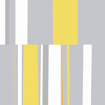Digital Art - Mosaic Single 2 - Minimalist Abstract by Menega Sabidussi