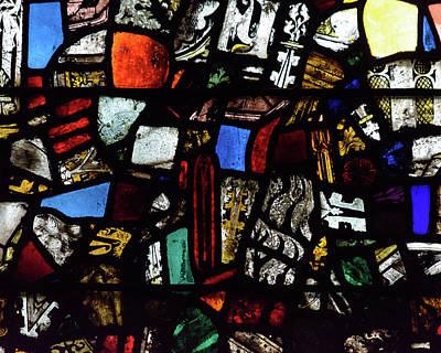 Photograph - Mosaic Stained Glass A by Jacek Wojnarowski
