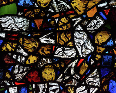Photograph - Mosaic Stained Glass B by Jacek Wojnarowski