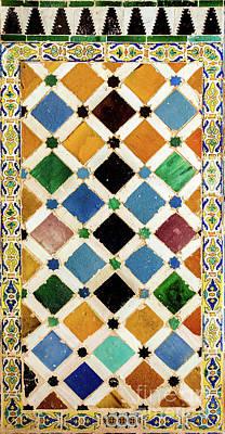 Mosaico Photograph - Mosaic V by Juan Carlos Ballesteros