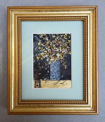 Painting - Mosaic Vase by Brenda Berdnik