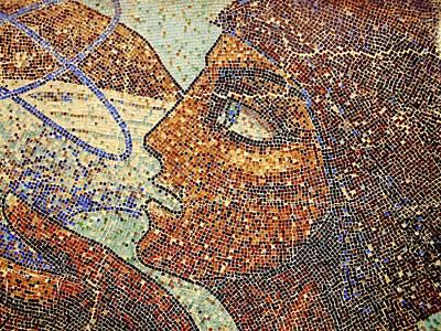 Photograph - Mosaic Woman by Erika H
