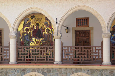 Photograph - Mosaics In The Kykkos Monastery by Jeremy Voisey