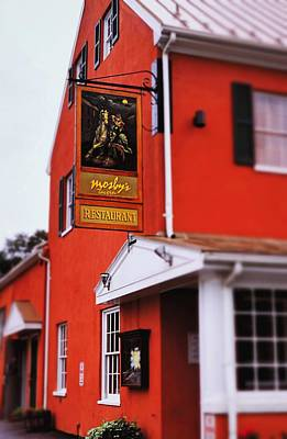 Photograph - Mosby's Tavern by Rodney Lee Williams