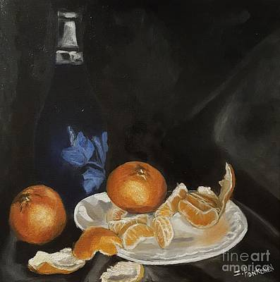 Painting - Moscato And Tangerines by Isabel Honkonen