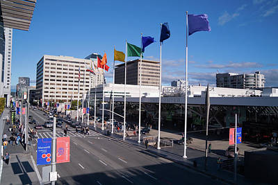 Photograph - Moscone Center San Francisco by David Smith