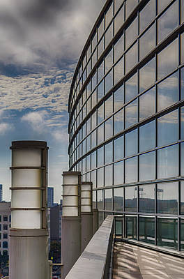 Photograph - Moscone West Balcony by Darcy Michaelchuk