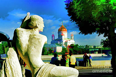 Photograph - Moscow By The Water by Rick Bragan