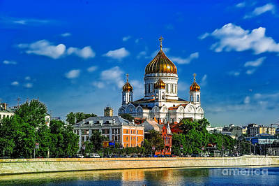 Photograph - Moscow Kremlin Two by Rick Bragan