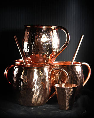 Photograph - Moscow Mule Set by Sean Seal