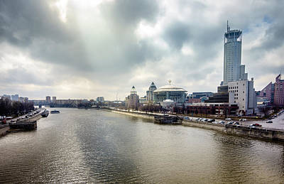 Photograph - Moscow River by Alexey Stiop