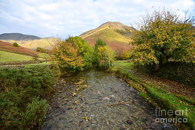 Lake Photograph - Mosedale Beck by Nichola Denny