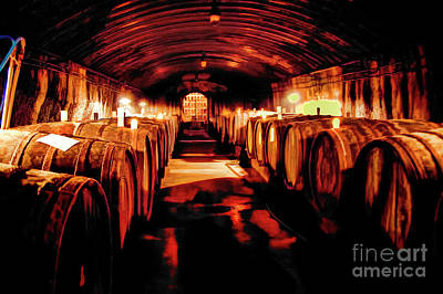 Photograph - Mosel Wine Celler by Rick Bragan